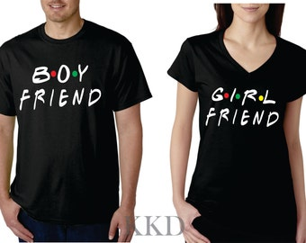 Friends TV Show Shirt | Friends Couple Shirts | Couple Shirts | Boyfriend and Girlfriend Shirts |