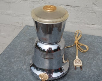 Vintage 50' chromed Elaul France coffee grinder