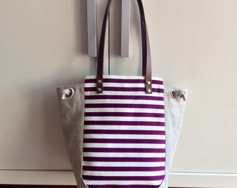Cotton and linen Tote