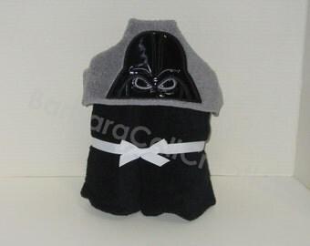 Hooded Bath Towel - The Dark One