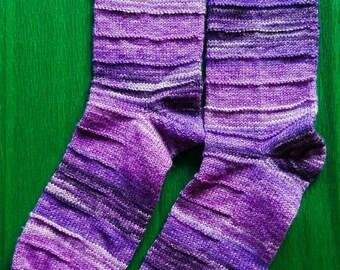 Socks in shades of purple size 40/41