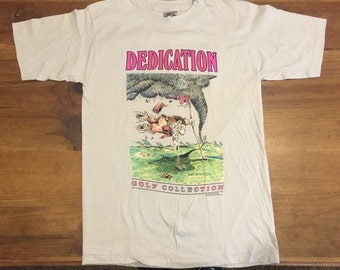 Vintage 1988 Gary Patterson Dedication Golf T-shirt