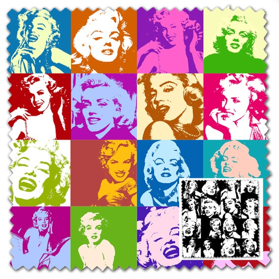 marilyn monroe design fabric 2 way stretch lycra spandex satin chiffon jersey voile. Black Bedroom Furniture Sets. Home Design Ideas