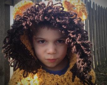 Lion Hood Cowl
