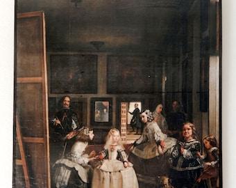 Las Meninas -Diego Velázquez, Museo del Prado, Madrid.FREE SHIPPING