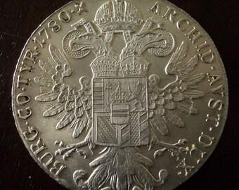 AUSTRIA 1 Taler 1780 - Empress Maria Theresa