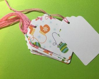 10 handmade holiday / winter tags