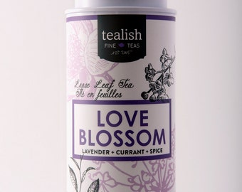 Love Blossom- Gourmet Herbal Tea - Tin