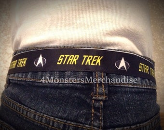 Star Trek child's Velcro Belt