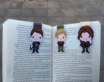 The Girl on Fire Large Magnetic Bookmarks