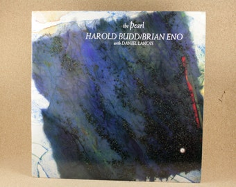 Harold Budd/ Brian Eno with Daniel Lanois - The Pearl Album - Editions Records - Electronic - Near Mint Condition