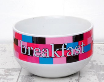 Personalised Cereal/Soup Bowl