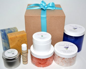 8 Piece Spa Gift Set, Expectant Mom Gift, Baby Shower, Gift for Her, Birthday Gift, Mom Gift, Valentine's Day Gift