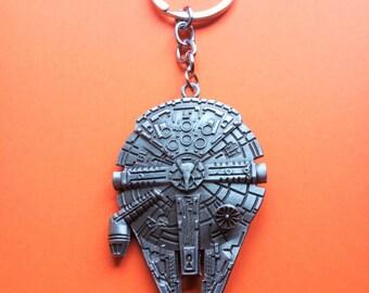 Keychain ship Millennium Falcon