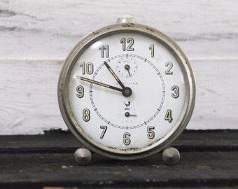 Industrial Style Vintage JAZ Clock – Functional