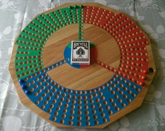 Cribbles, a Cribbage Board Game