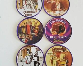 Cadbury's Chocolate drinks coasters