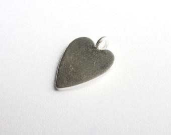 Heart pendant 925 silver P035G