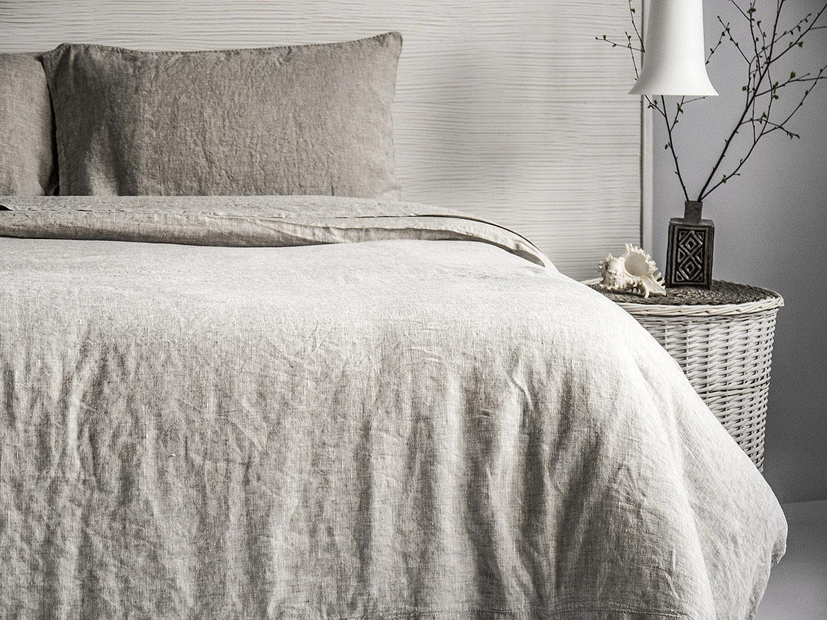 Linen Duvet Cover Stone Washed Super Soft Or 3pc Sets By