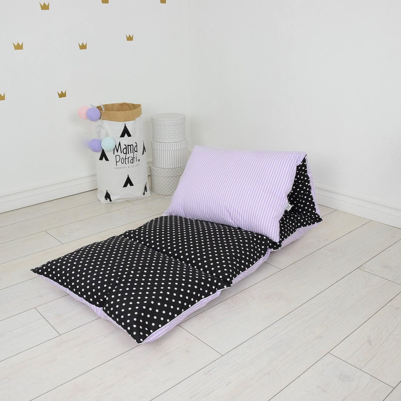 Pillow Bed Baby Nap Mat Sleeping Bed Sleepover Toddler Nap Mat