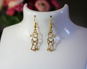 Jewelry $ 15 and less: the little prince of color earrings gold