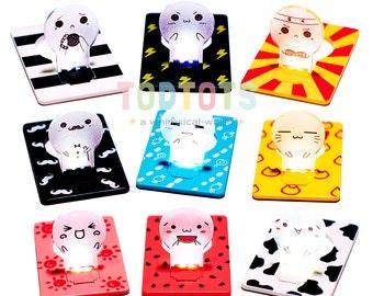 Card Lamp - Super Kawaii LED Card Lamp   Kawaii Lifestyle   Portable Slim Light   Bedside Light   Night Light   Slim Design