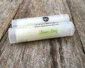 Lemon Lime Lip Balm, Handmade, Natural Lip Balm, Chapstick, Lip gloss, Lip Butter, Lipstick, Favors, Gift for her, Shea Butter