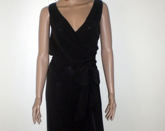 Dress Max Mara T 38 / 40 cache new grey black heart