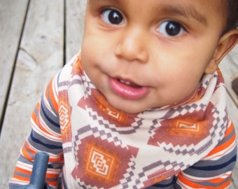 Baby Bandana Bib - Adobe Baby - NEW SIZE! 6+ Months!