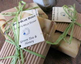 Green Tea & Honey Goats Milk Soap