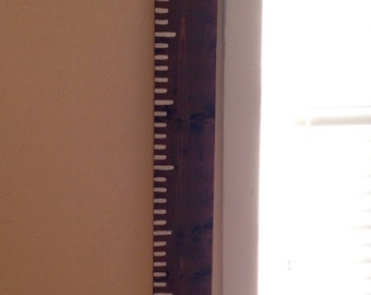 6ft Growth chart ( no numbers)