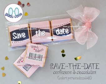 Save-the-date 3 10 CONFECTION CHOCOLATES-set pieces