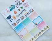 Happy Camper - Camping Planner Stickers