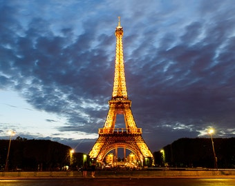 Paris photography, Eiffel tower sunset, Paris decor,digital wall art, digital print, instant download, printable art, wall decor, home decor