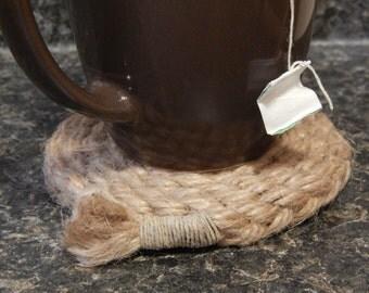 THICK Woven Hemp Coasters