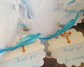 Set of 10 Bath Salts Party Favors, Baby Shower Favors, Wedding Favors, Bridal Shower Favors, Baptism Favors, Engagement Favors