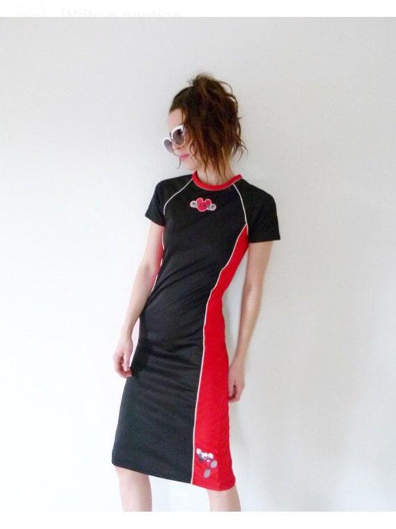 90s MickeyMouse Sporty Dress