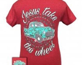 Girlie Girl Jesus take the wheel NEW