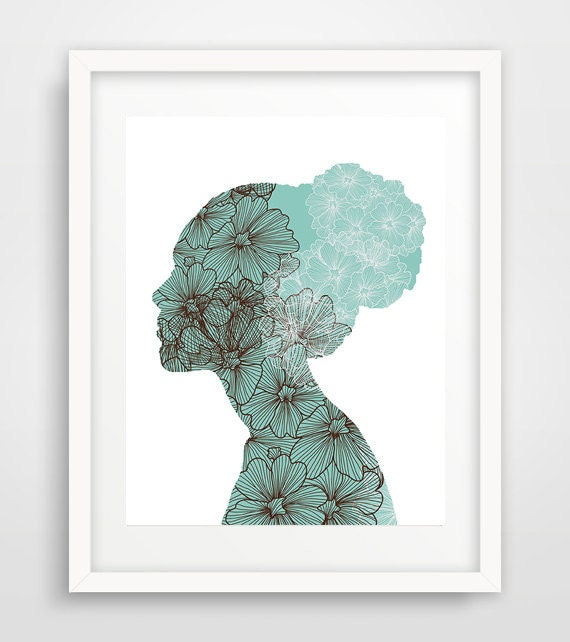 art floral wall art cameo print cheap wall art woman print cool
