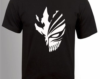 Bleach T-Shirt Hollowfication Vizard mask Ichigo Kurosaki
