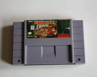 Donkey Kong Country for Super Nintendo SNES