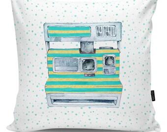 Decoartive pillow Polaroid stripes