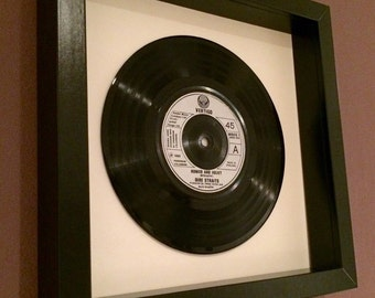 "Dire Straits ""Romeo and Juliet"" - Framed Vinyl Gift"