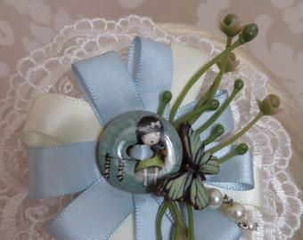 Blue Summer headdress