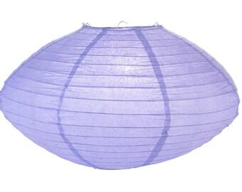 "16"" Lavender Saturn Paper Lantern - 16SAT-LV"