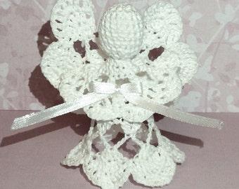 Lace Angel Christmas Angel chrochet ornament Buy more&save wedding angel