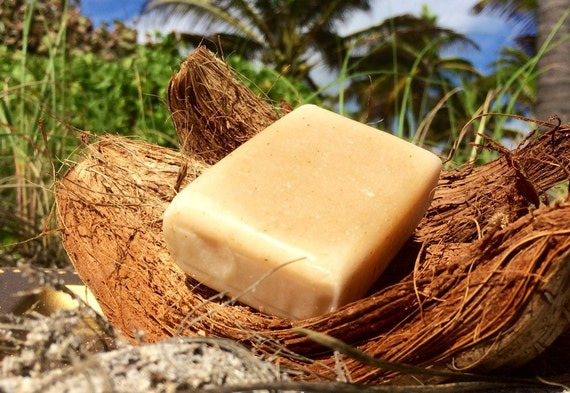 Hibiscus Coconut Oil Soap