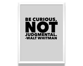 Walt whitman | Etsy