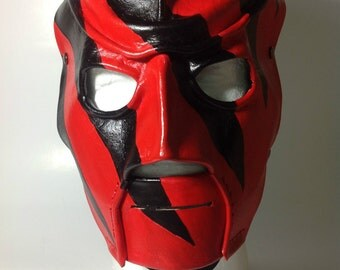 Leather Kane Mask Replica 1997-2000 Version 1 Halloween
