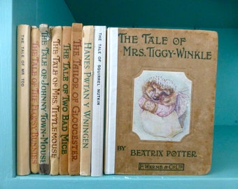 Early Editions of Beatrix Potter Books